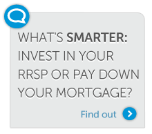 Invest in your RRSP or pay down your mortgage?