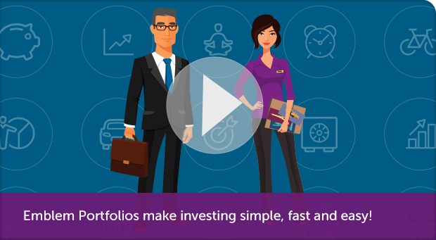 Emblem Portfolios make investing simple, fast and easy!